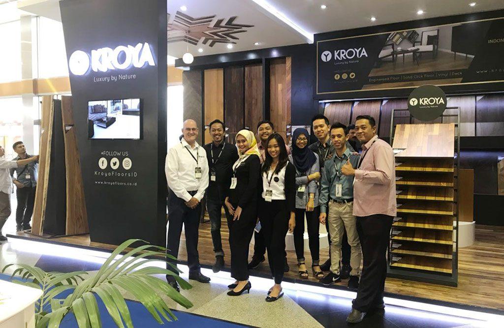 kroya floors di megabuild 2018