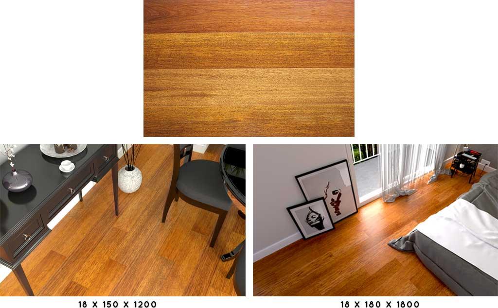 lantai kayu solid click merbau