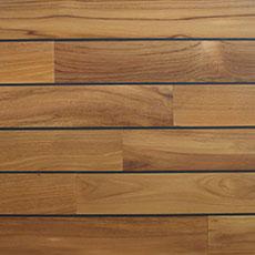 Lantai kayu solid jati mastic